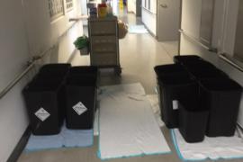 Krankenstation unter Wasser