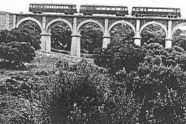 Alte Bahnlinie als Wanderweg