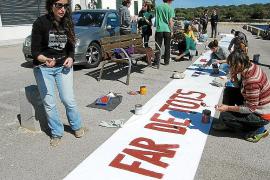 Anfang März brachte die Bürgerinitiative Salvem Portocolom mehrere Hundert Menschen zur Teilnahme an einer Kundgebung gegen die