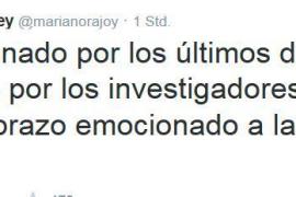 Der Tweet von Spaniens Ministerpräsidenten Mariano Rajoy.