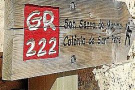 Wanderer können ab Son Baulò der Route GR-222 folgen.