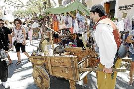 Mittelaltermarkt im Pueblo Español