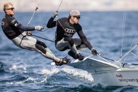 Deutsche segeln vor Mallorca um den Sieg