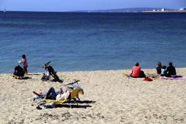 Palma am Ostermontag: Sonniges Treiben im Bereich Stadtstrand Can Pere Antoni bis El Molinar.
