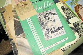 """Ein Flyer des Films """"Der Froschkönig"""", in dem Christiane Armbrecht die Prinzessin spielte."""