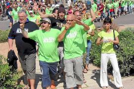 Beliebter Umzug an der Playa de Palma: Mit der Mallorca-Polonaise ging es 2007 los.