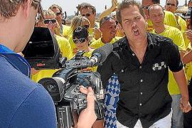 Gute Tradition: Am Rande des Mallorca-Openings dreht Peter Wackel schon seit Jahren seine Musikvideos.