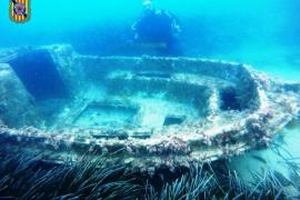 Versunkenes Boot entdeckt