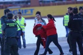 """Gerettete Passagiere der """"Sorrento"""" in Palma eingetroffen"""