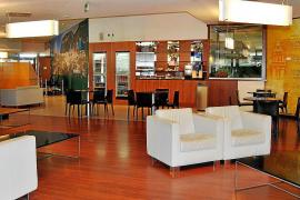 Schlichte Eleganz: Der Flughafen Palma de Mallorca verfügt über zwei VIP-Lounges.
