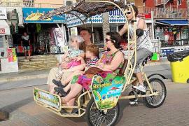 Streit um Fahrradtaxis an der Playa