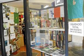 Bücher-Ausverkauf auf Mallorca