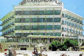 Die historische Aufnahme zeigt das Garonda Palace in den 1970er Jahren.