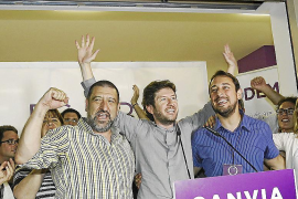 ... und der jungen Protestpartei Podemos.