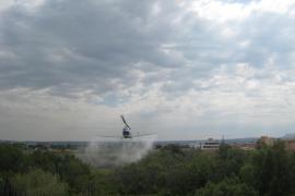 Kampf gegen die Mücken aus der Luft