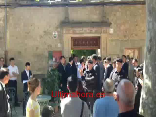 China-Delegation exklusiv in Valldemossa