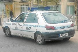 Polizeiwagen scheitert am TÜV