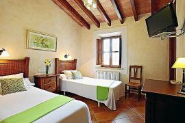 Über dem Restaurant Daica betreiben die Inhaber in Llubí auch das gleichnamige Hotel mit drei Zimmern.