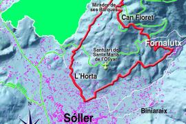 Die Rundwanderung führt von Sóller über Fornalutx