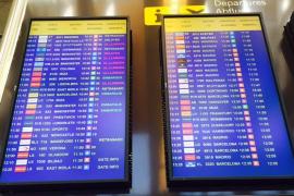 Wenige Verspätungen, keine Flugausfälle