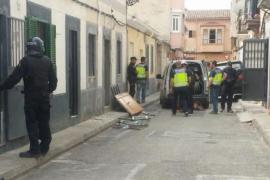 Drogenrazzia in Palma de Mallorca