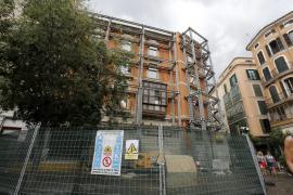 Bau am Hotel Cappuccino geht weiter