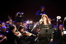 Sängerin Maria del Mar de Bonet.