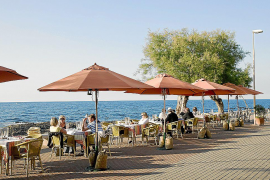 Ibiza-Style im Restaurant Sa Xarxa