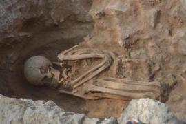 Archäologen finden 2500 Jahre alte Skelette