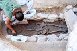 Überreste aus Römer-Zeit in Felanitx gefunden