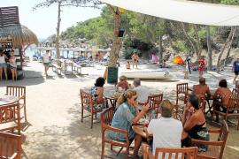 Budenzauber am Mallorca-Strand