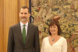 Ministerpräsidentin spricht mit König über Mallorca