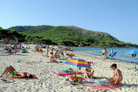 Sommerfrische an der Ostküste: Die Cala Agulla gehört zu Cala Rajada.