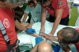 Feuerwehr rettet Jungen aus Pool