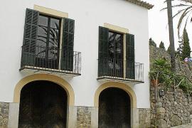Das Haupthaus von S'Estaca auf Mallorca.