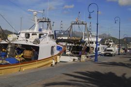 Das Archivbild zeigt die Fischereiflotte an der Mole in Port d'Andratx.