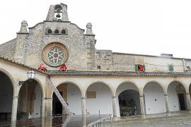 Das Monti-Sion-Heiligtum auf dem Hausberg von Porreres.