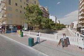 Hier an der Ecke Torrent de Jueus und der Meerespromenade waren die Franzosen auf die Hütchenspieler gestoßen.