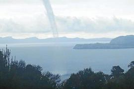 Kleiner Tornado vor Mallorca