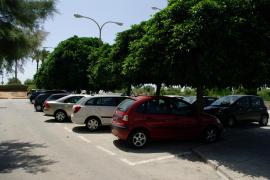 An der Playa de Palma lässt es sich meistens recht gut parken.