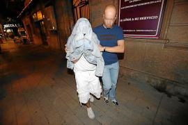 Der Organisator der Drogenpartys bei der Festnahme.