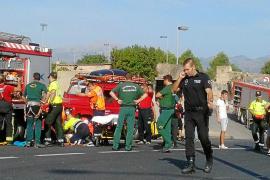 Enormes Aufgebot an Rettungskräften in Muro, Mallorca.