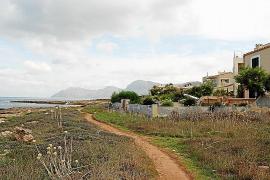 Mitten in der Natur: Die Siedlung s'Estanyol westlich von Colònia de Sant Pere auf Mallorca.