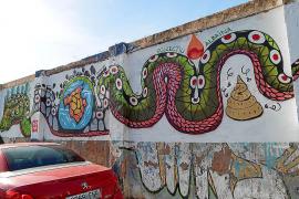 Streit um Wandbild in Sóller