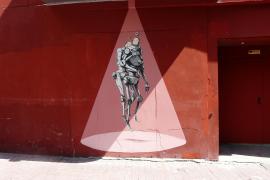 Völlig neue Optik: Hausfassade an der Plaza Gomila.