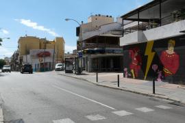 Völlig neue Optik: Zufahrt auf die Plaza Gomila.
