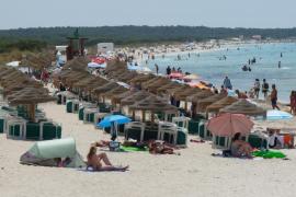 Geschäftsleute am Es-Trenc-Strand beklagen Einbußen