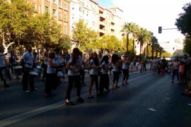 Bereits am Am Samstag, 19. September, wurde von 10 bis 19 Uhr die Avenida Comte Sallent in Richtung Paseo Marítimo gesperrt, um