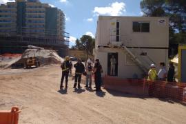 Tödlicher Baustellenunfall in El Arenal