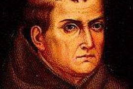 Der Heilige Junípero Serra.